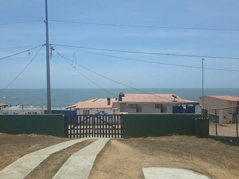 Vista desde la casa.