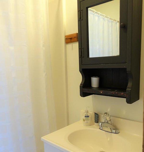 Mobili, interni, camera, lavandino, rubinetto del lavandino