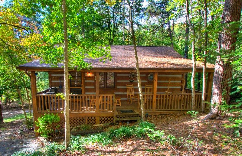 Edificio, cabaña, casa, aire libre, naturaleza