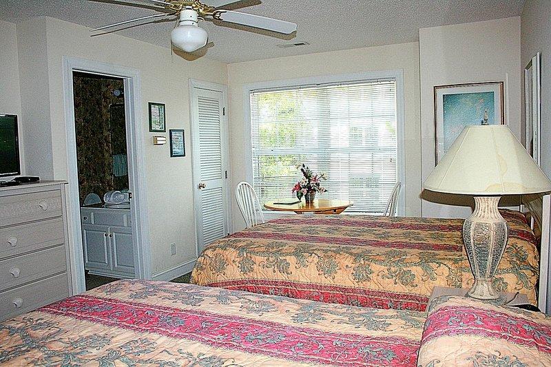 Ventilador de techo, interior, habitación, dormitorio, lámpara