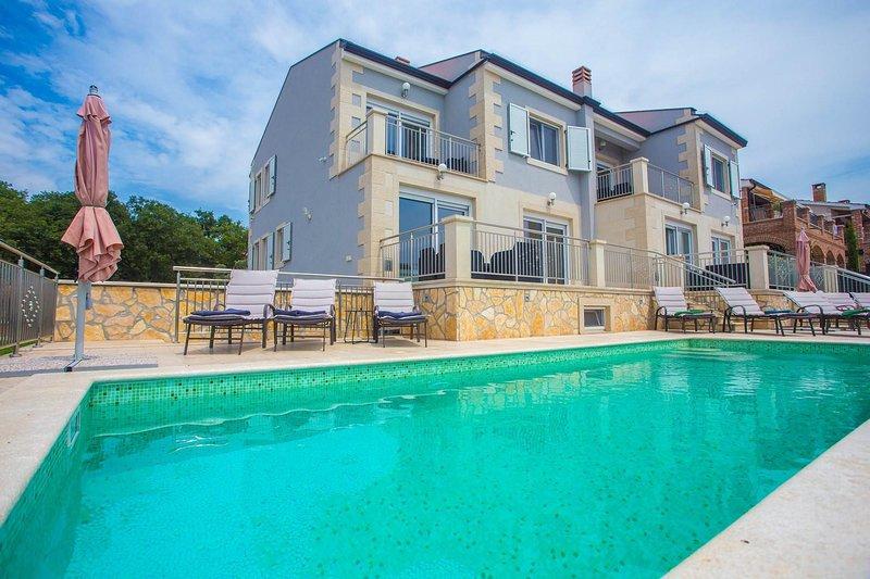 House, Building, Resort, Hotel, Water