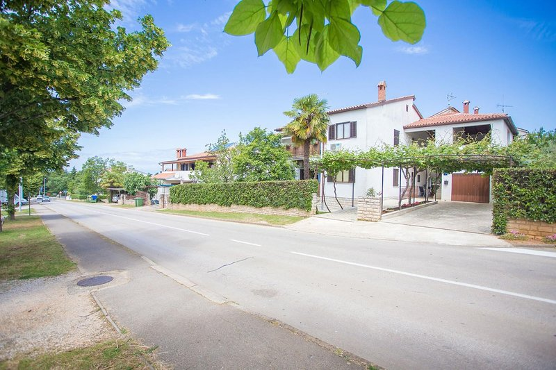 Carretera, Autopista, Edificio, Urbano, Árbol
