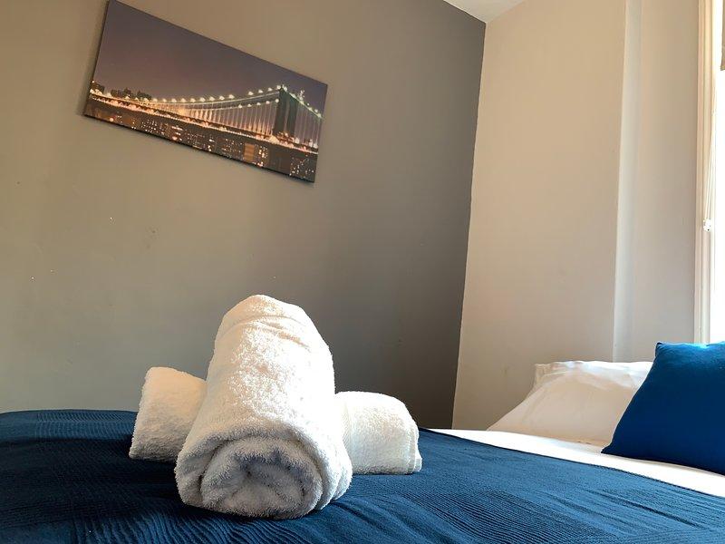 Wij bieden beddengoed en handdoeken van hotelkwaliteit.