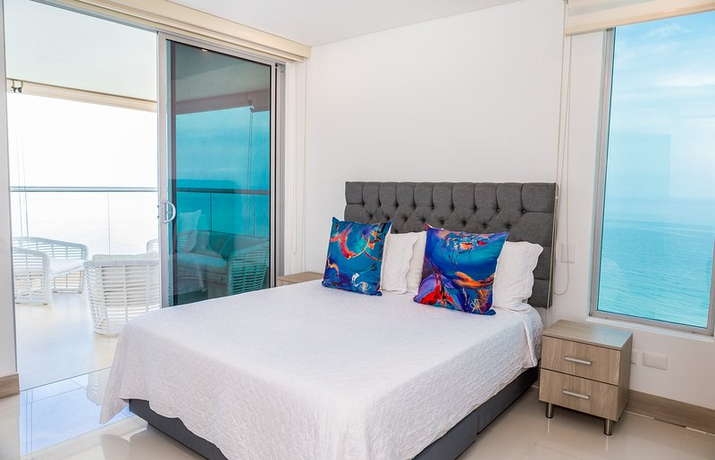 Exclusive Apartment Seaview Palmetto Sunset, casa vacanza a Isla Grande