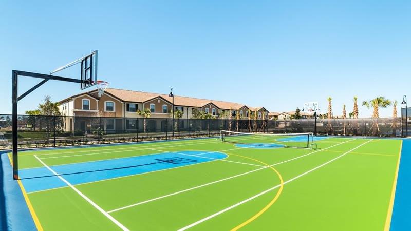 Quadra de tênis, Iluminação, Quadra de basquete, Campo