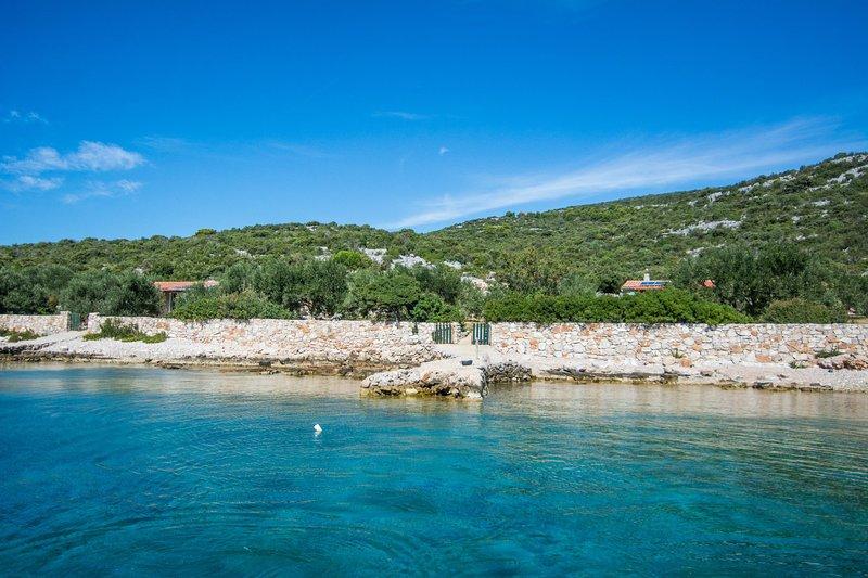House Cucumber, casa vacanza a Kornat Island