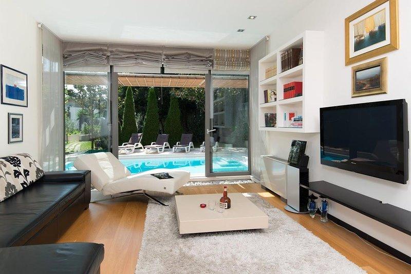 Muebles, sala, interior, sala de estar, mesa