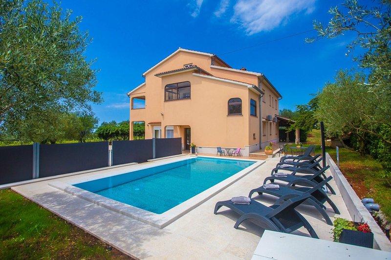 Water, zwembad, gebouw, huis, zwembad