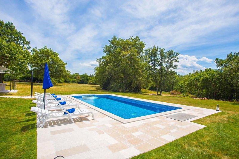 Acqua, piscina, pietra per lastricare, piscina, natura