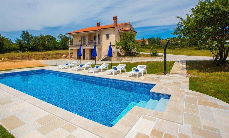 Edificio, casa, acqua, piscina, piscina
