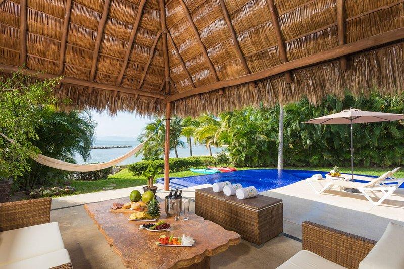 Casa del Mar, Punta Esmeralda, holiday rental in La Cruz de Huanacaxtle