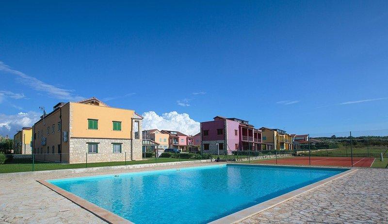 Bâtiment, Resort, Hôtel, Passerelle, Chemin