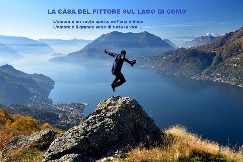 Apartment 'La Casa Del Pittore Sul Lago Di Como', holiday rental in Bellano