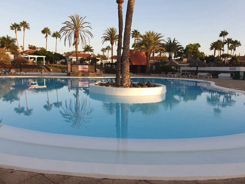 Bungaló bonito y tranquilo en campo internacional, vacation rental in Maspalomas