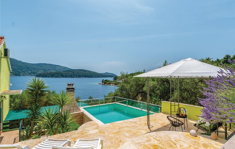 Amazing home in Vela Luka with WiFi and 4 Bedrooms (CDS603), holiday rental in Potirna