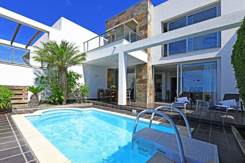 Salobre Golfers 12 con WIFI, holiday rental in Monte Leon