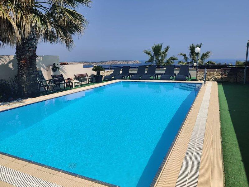 KV Seaview 2 Bedroom Apartment Mellieha – semesterbostad i Mellieha