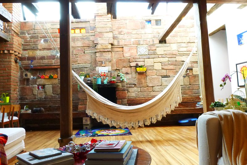 La Candelaria One of a Kind Colonial House Beautiful, Cozy and Unique, holiday rental in Bogota
