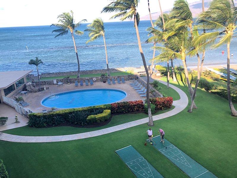 2BR**Sleeps 6**Direct Beach Access**Overlooking the Pool and Ocean, alquiler de vacaciones en Kihei
