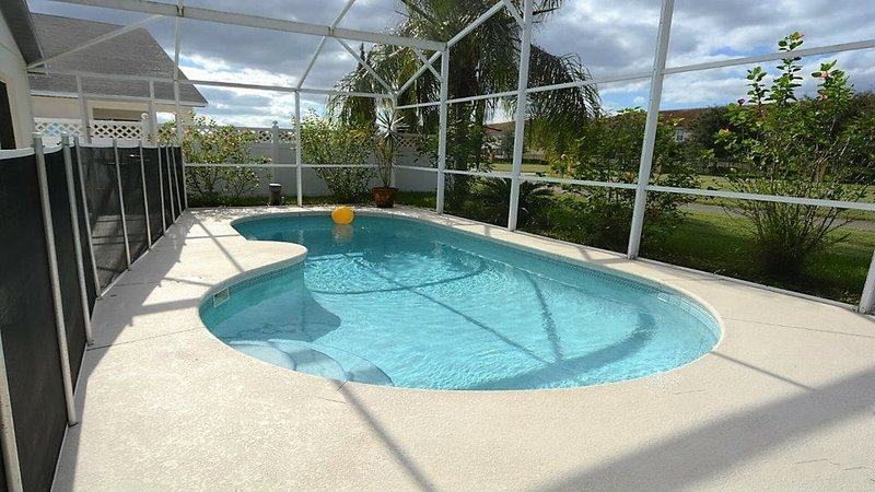 Pool front view area