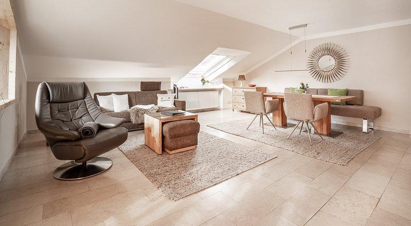 Wohnzimmer 'Alpenpanorama'