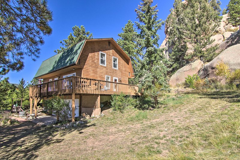 Florissant House w/ Sangre de Cristo Views!, holiday rental in Lake George