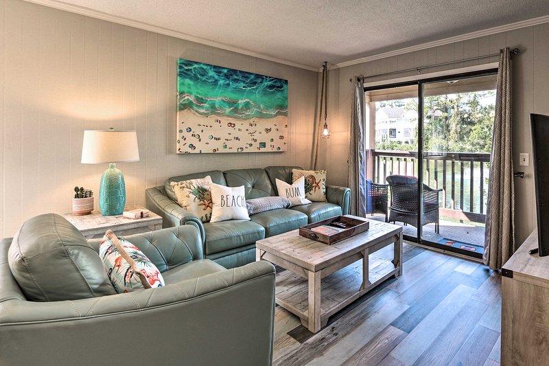 Vivi in spiaggia in questo condominio Hilton Head con spazio per 6!