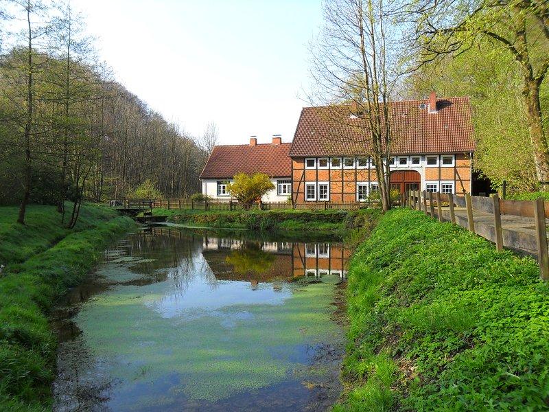 Ferienhaus Zur Höllenmühle am Wasserfall, holiday rental in Heessen