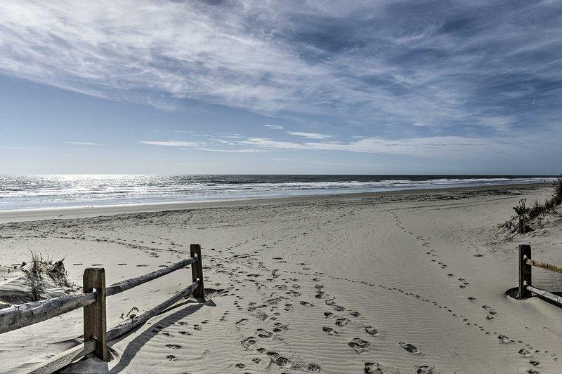 Vous serez à quelques pas de la côte sablonneuse de l'Atlantique.
