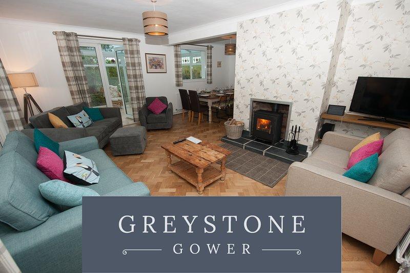 Greystones, Glorious Gower seaside holiday home, sleeps 12, casa vacanza a Rhossili