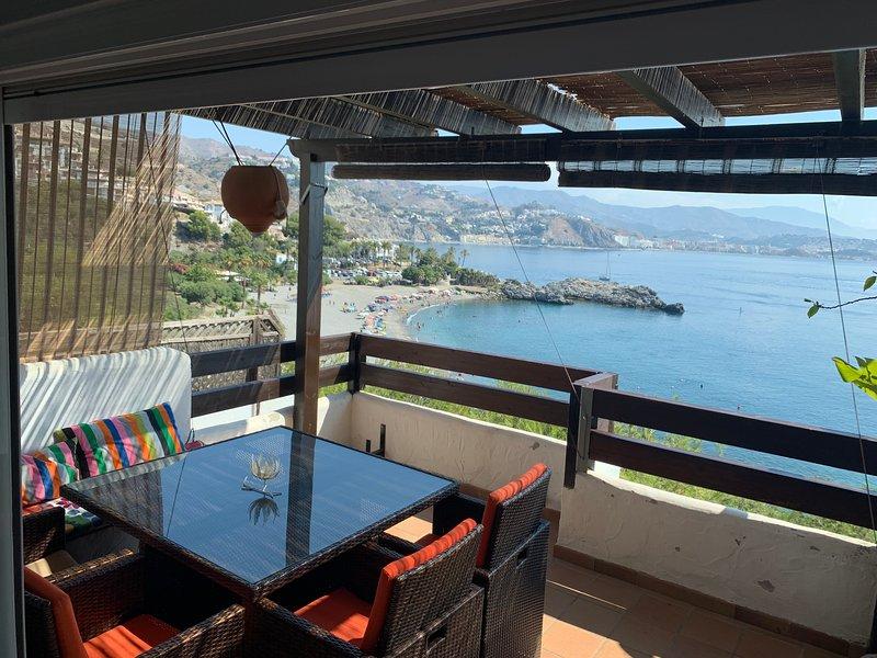 Apartamento de 135 m2 de 3 hab, alquiler de vacaciones en La Herradura