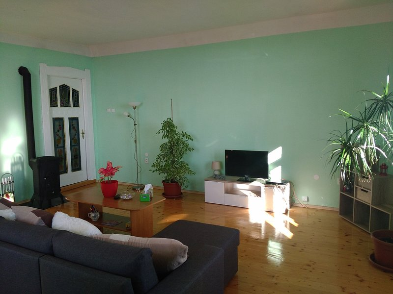 Nice apt with mountain view & Wifi, vacation rental in Prackovice nad Labem