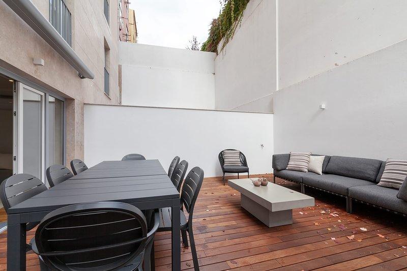 Terras of patio