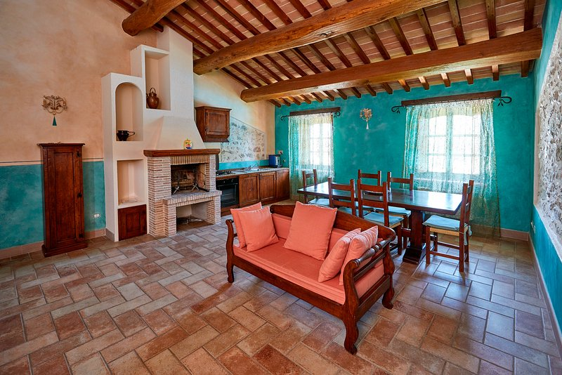 A Gem in the countryside. Emerald apartment, holiday rental in Castel Ritaldi