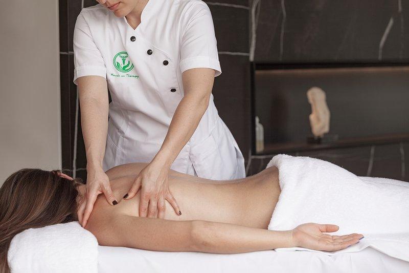 Servizio di massaggio fornito