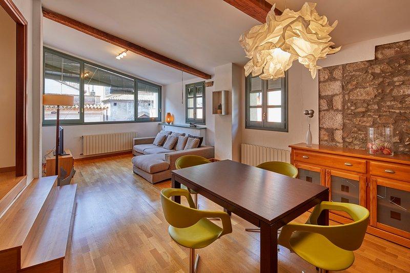 Apartamento con vistas en el Barri Vell, casa vacanza a Girona