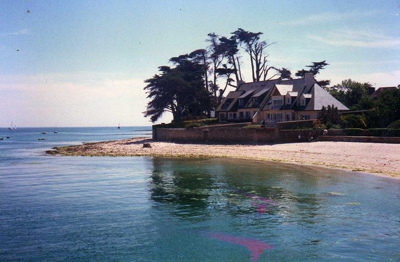 Amazing house with sea view & Wifi, location de vacances à Île-Tudy