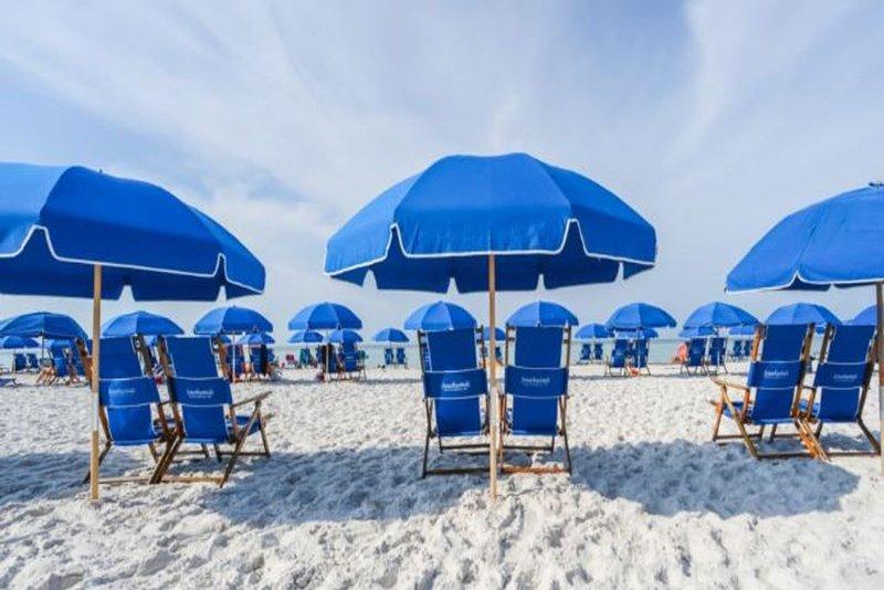 Seasonal Beach Chair Setups provided by La Dolce Vita