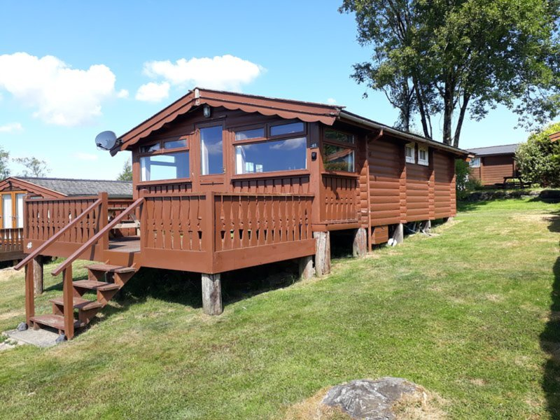 Cosy Log in the Snowdonian Mountains, holiday rental in Bronaber