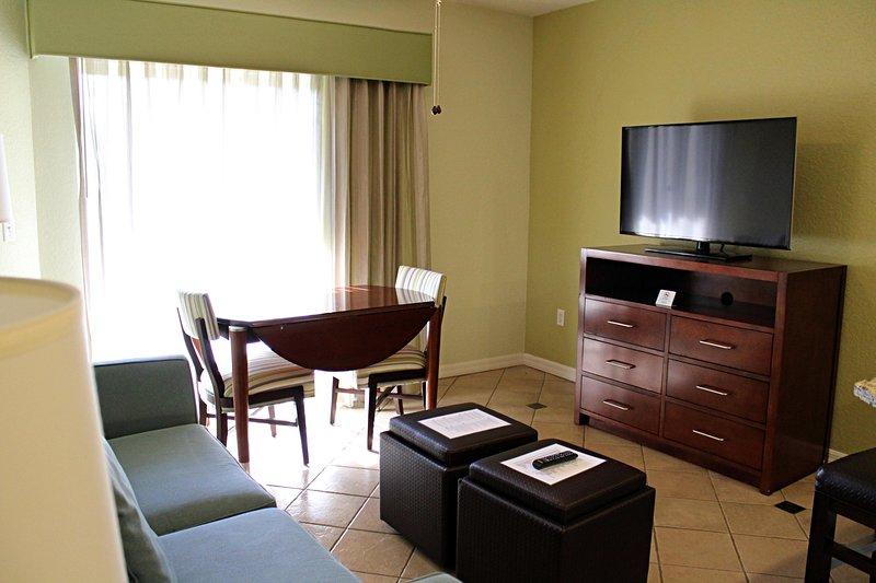 Mystic Dunes Resort & Golf Club One Bedroom Living Area