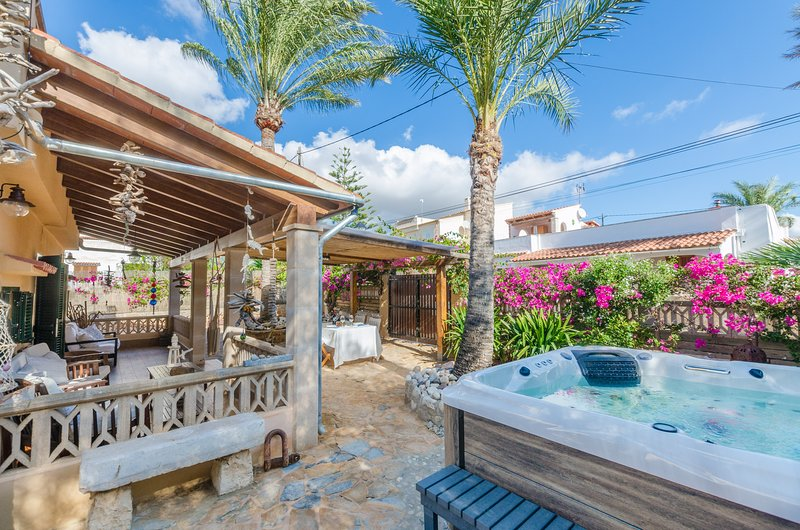 CAS PATI (SON MOJA) - Chalet for 3 people in Son Moja (Santanyi), holiday rental in Cala Santanyi