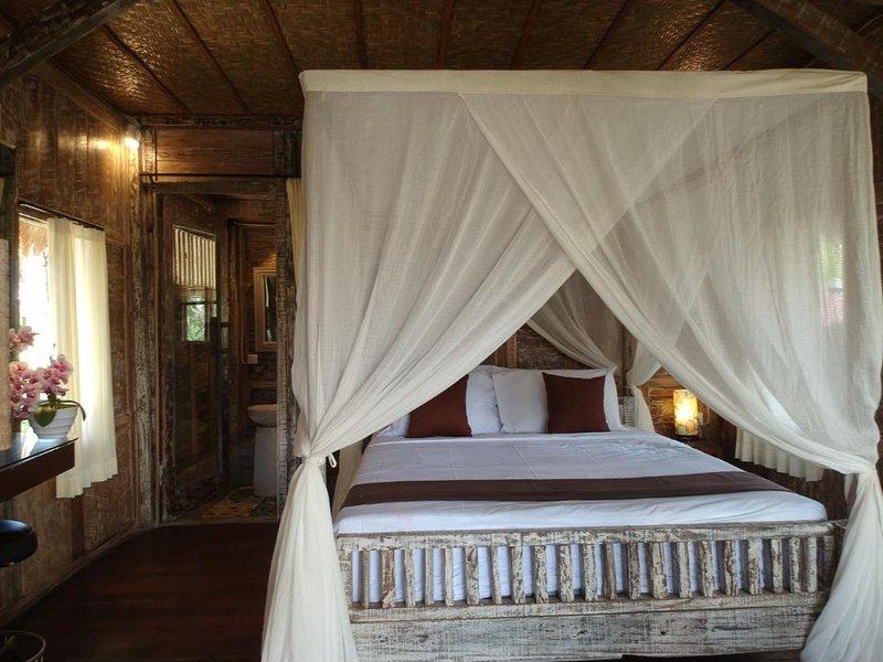 Royal Jj Ubud Resort and Spa Deluxe Standard room, alquiler vacacional en Melayang