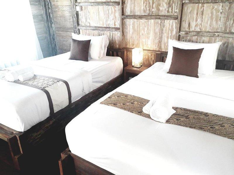 Royal Jj Ubud Resort and Spa Deluxe Twin Room or Double, alquiler vacacional en Melayang