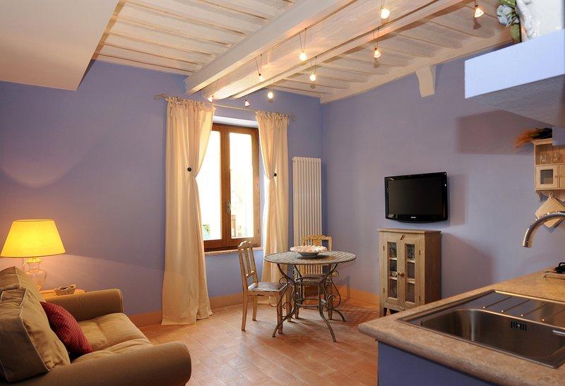 Appartamento nel centro storico, holiday rental in Bagno Vignoni
