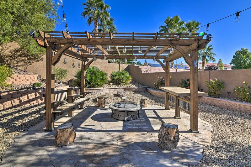 Escape to the shade of the palm trees at this 5-bed, 4.5-bath vacation rental!