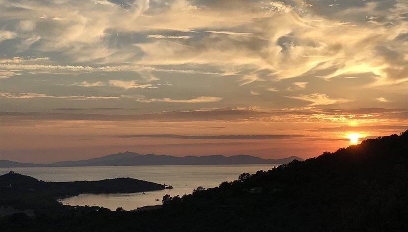 La Sugherosa - Villa with sea view in Tuscany, location de vacances à Punta Ala