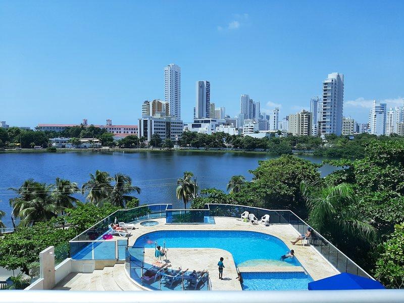 Mirador del Laguito. 503 - 3 habitaciones. Frente a la bahía, location de vacances à Bocachica