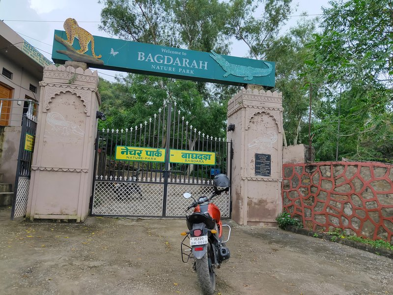 Baghdarah nature park 30 km from Vyomanh crocodile sanctuary and bird watching