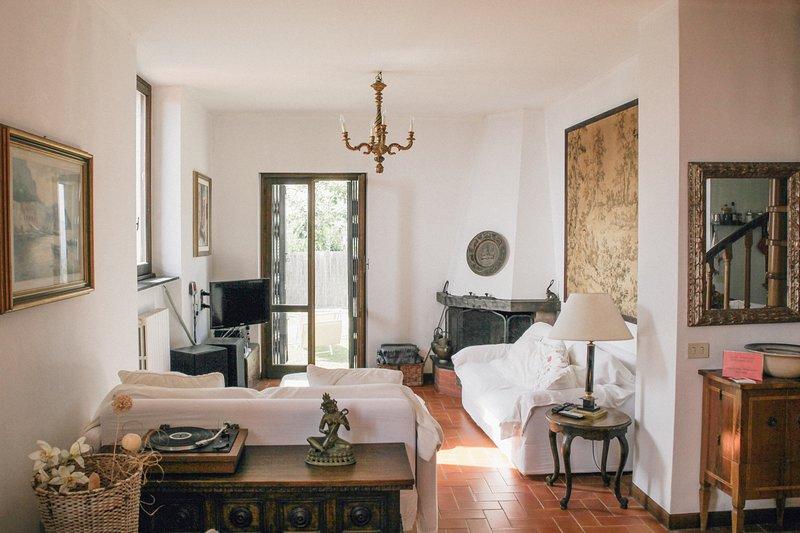 Villa  vista  mare sul promontorio  di Portofino, Ferienwohnung in Chiavari