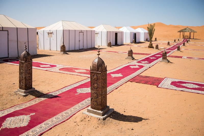 Merzouga luxury desert camp, casa vacanza a Rissani